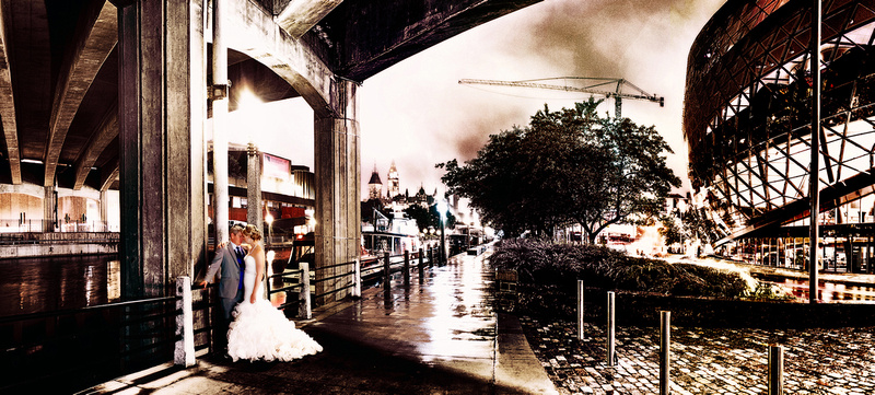 Ottawa Downtown Wedding Portrait