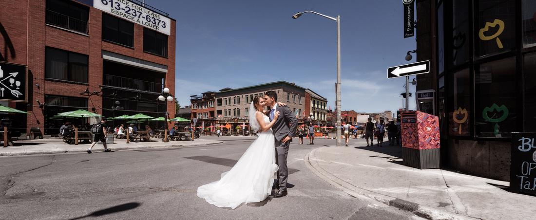 Byward Market Ottawa Wedding photography by Frank Fenn