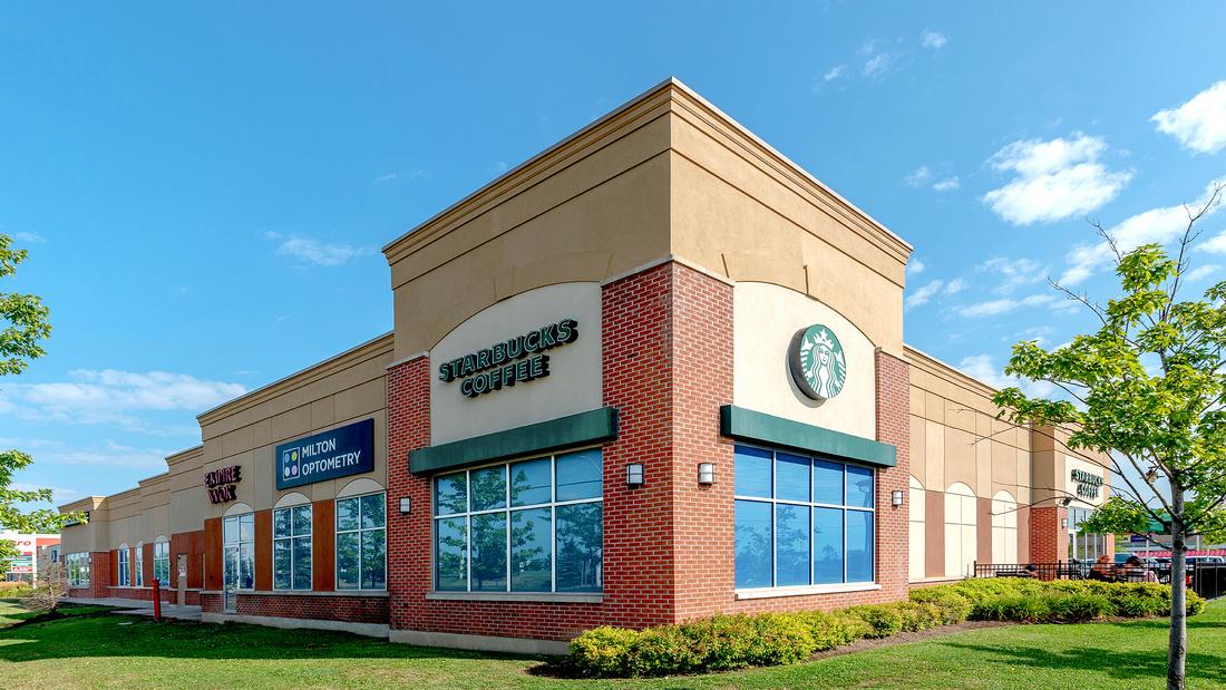 Starbucks Milton Architectural Photography by Frank Fenn IDEA3 LR