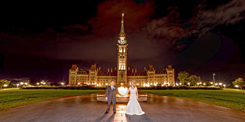 Parliament Hill Night Portrait wedding Frank Fenn