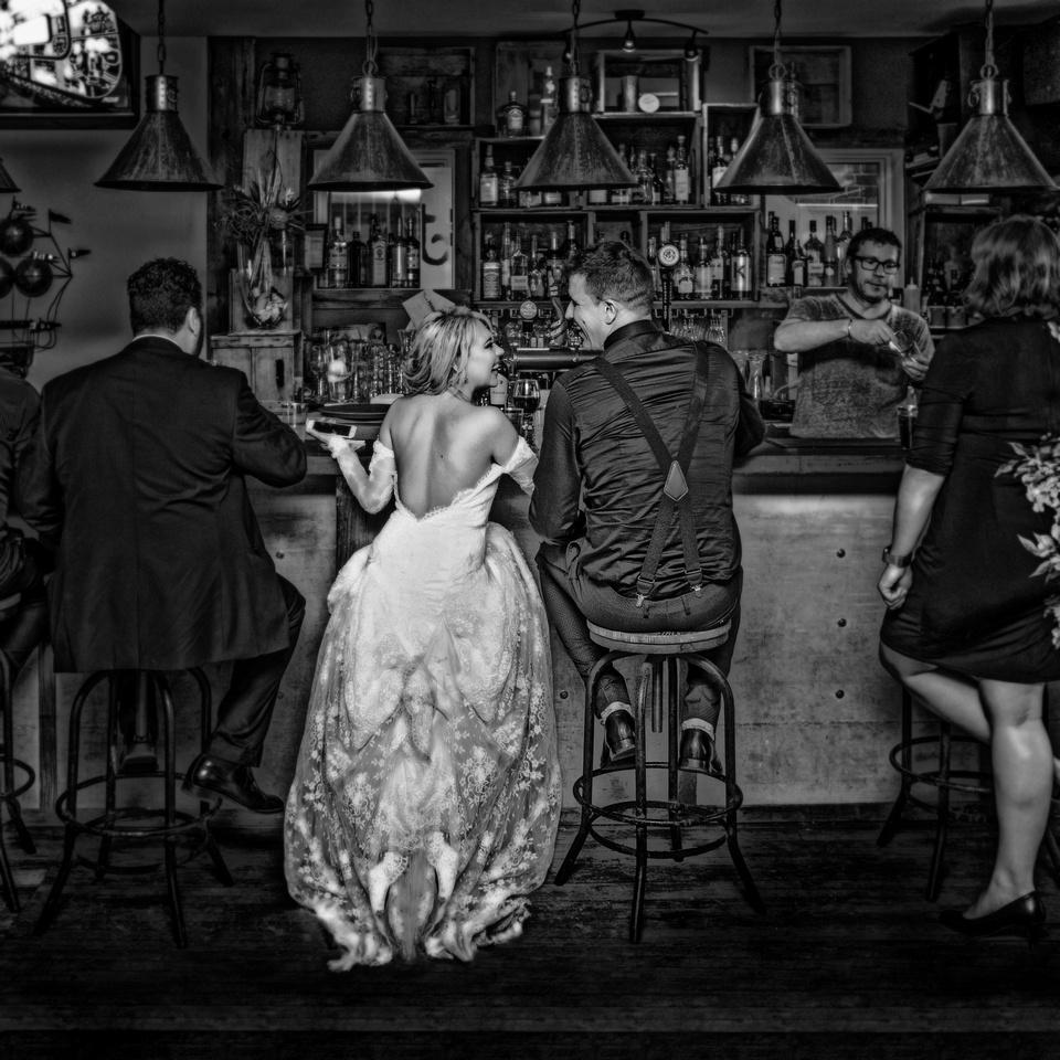 000022 Bride and Groom Bistro La'lambic