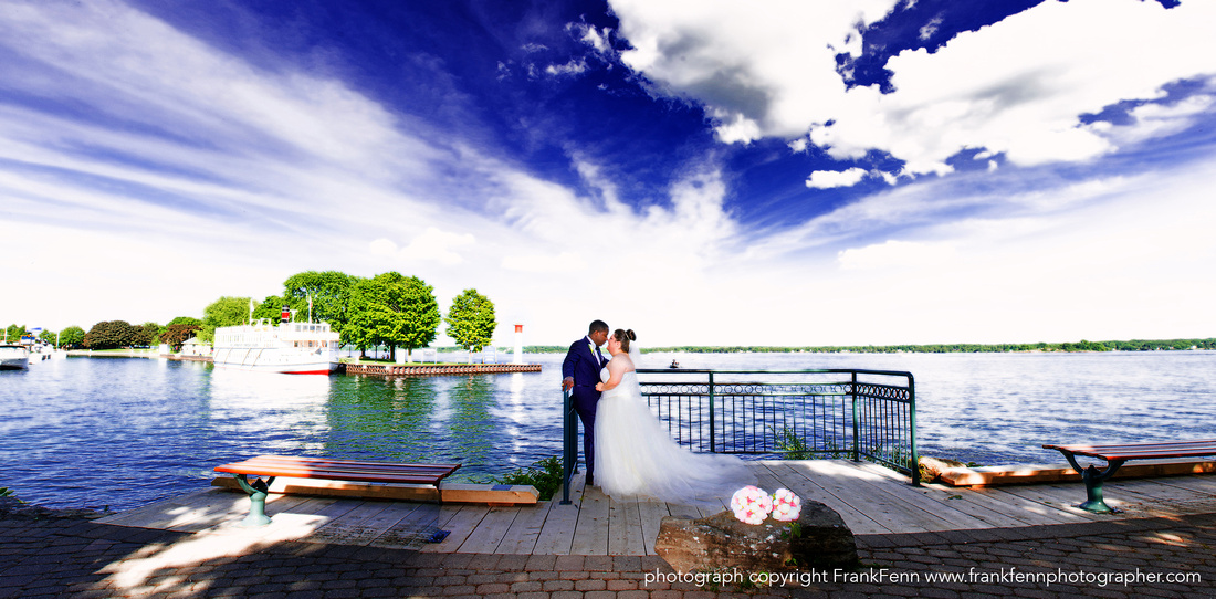 Hardy Park wedding portrait
