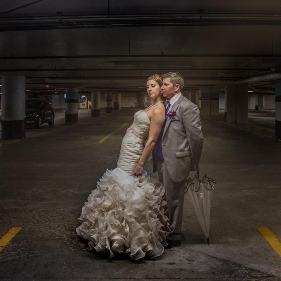 Rideau Centre Parking Garage Wedding