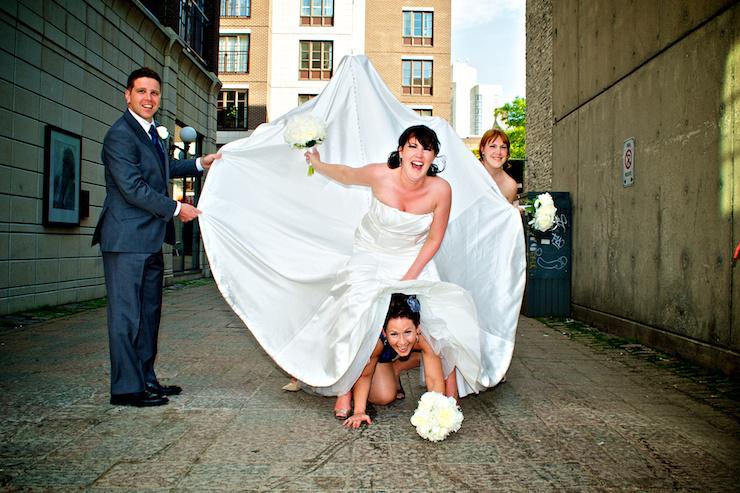 Byward Market Wedding Fun