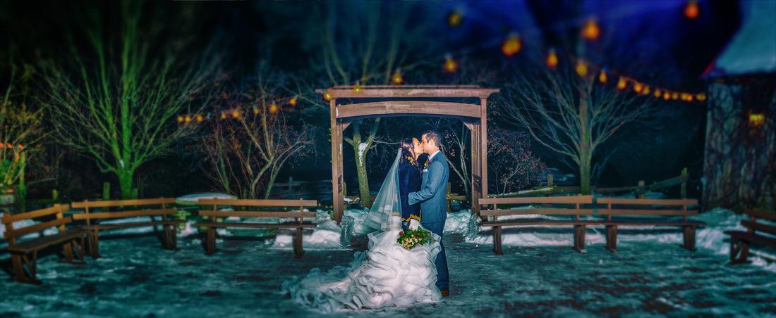 Strathmere Wedding in Winter