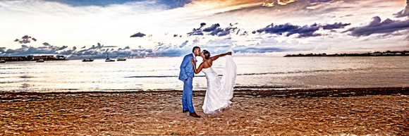 Riu Palace Jamaica Wedding on the ocean